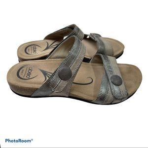 Abeo Barbara slide sandals sz 8.5